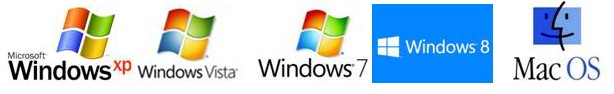 cach tim dia chi ip cua may tinh windows xp vista - 7 - 8 - mac