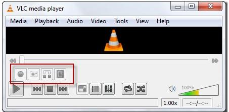 Nút Recording xuất hiện trên VLC Media Player