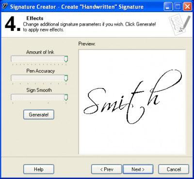 cách tạo chữ ký tay trên máy tính Signature Creator