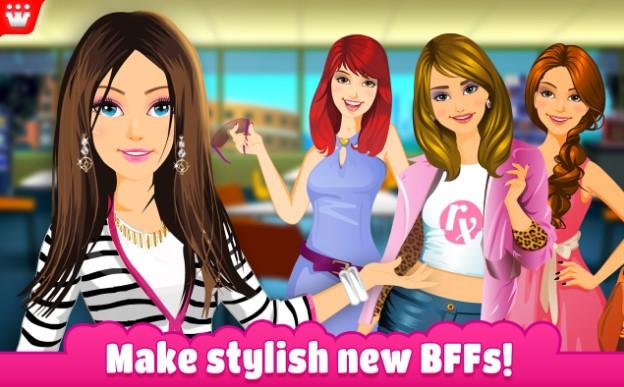 Game thời trang cô gái trẻ trung và hấp dẫn