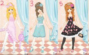 Game thời trang bạn gái với nhiều đồ cực xinh