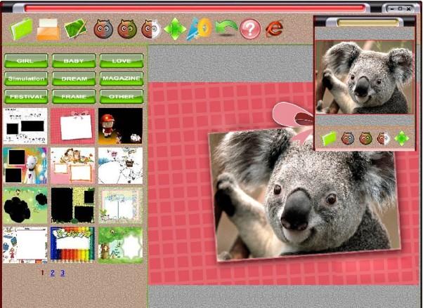 Ghép ảnh trong Photoshine Mini 4.0 - Hình 2