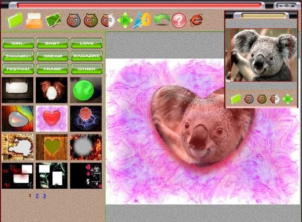 Ghép ảnh trong Photoshine Mini 4
