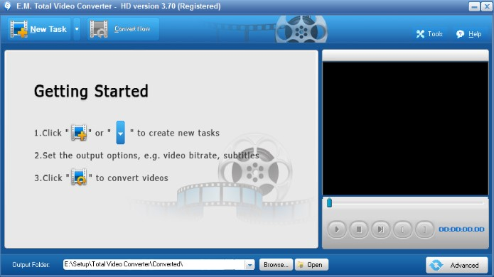 Giao diện Total Video Converter 3.70