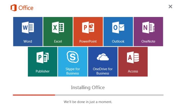 Hướng dẫn Cài đặt Microsoft Office 2016 cho máy tính
