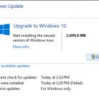 Nâng cấp lên Windows 10 từ Windows 8.1