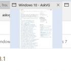 Vô hiệu hoá Tab Preview Thumbnail trong trình duyệt web của Microsoft Edge