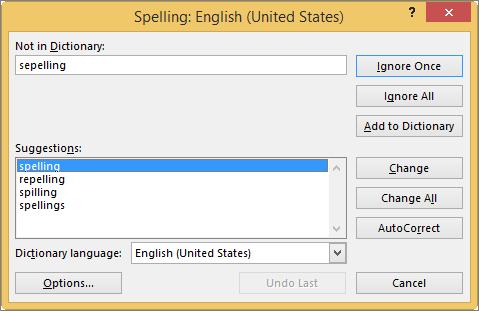 Kiểm tra chính tả và ngữ pháp trong Microsoft Word