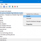 Bật/ Tắt microphone trong Windows 10