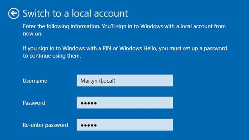 Cách cài đặt Windows 10 mà không cần tài khoản Microsoft