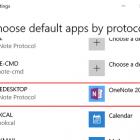 Thay đổi phiên bản mặc định của OneNote trên máy tính Windows 10