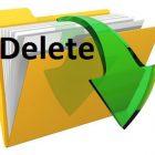 Cách xóa thư mục Download của bạn trong máy tính