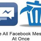 Cách xóa tin nhắn Facebook nhanh