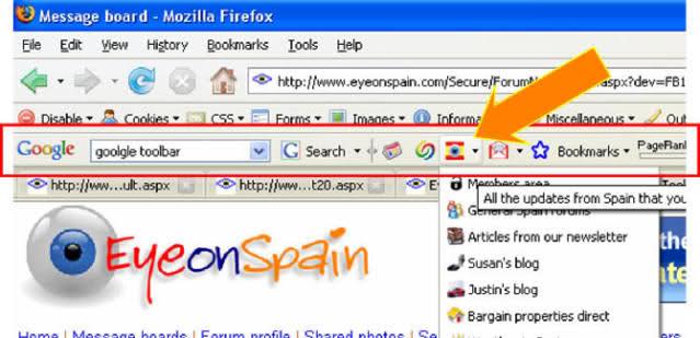 Gỡ bỏ thanh công cụ trên trình duyệt Chrome, Firefox và IE