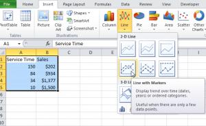 """Hướng dẫn """"Tạo một biểu đồ Excel cơ bản"""""""