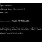 Khắc phục lỗi DISM 0x800f081f trong Windows 10/ 8