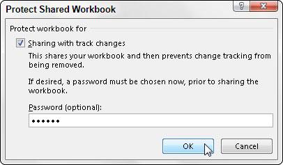 Cách Bảo vệ và Chia sẻ một Workbook
