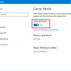 Cách kích hoạt và sử dụng Chế độ Game trong Windows 10