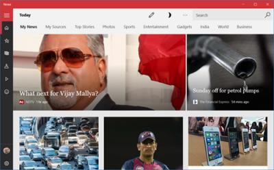 Hiển thị Universal Apps & Edge trong chế độ toàn màn hình trong Windows 10