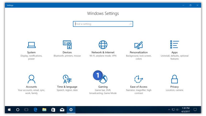 Hỗ trợ chơi game tốt hơn với Game Mode Windows 10