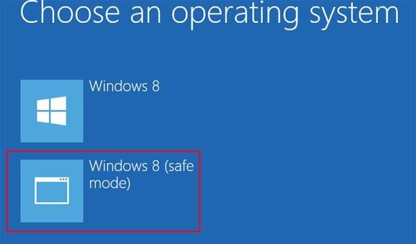 Hướng dẫn Chạy chế độ an toàn trong Windows 8 máy tính