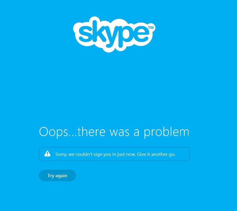 Khắc phục: Skype App ngừng hoạt động hoặc không đăng nhập Windows 10