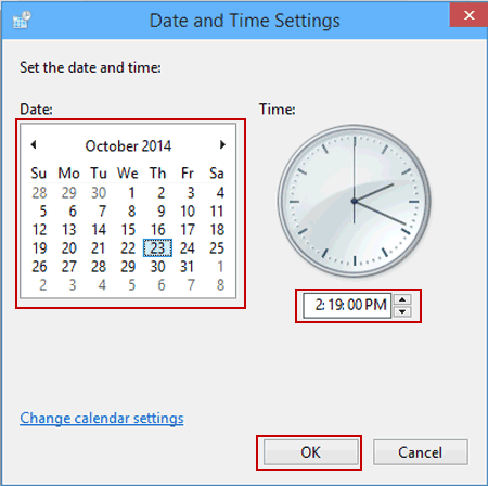 how to change the time on your ticwatch