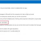 Cách chặn Thư rác, Spam và Thư không mong muốn trong Outlook.com