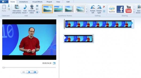 Cách chỉnh sửa Video trong Windows Movie Maker