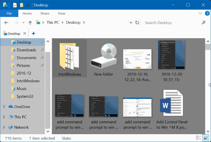 Cách Thay đổi màu nền thư mục trong Windows 10