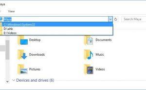 Cách Xóa Lịch sử thanh địa chỉ của Windows Explorer trong Windows