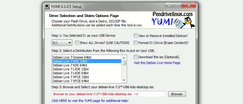 Tạo ổ đĩa USB MultiBoot với YUMI
