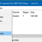 Cách để Hủy bỏ, Xóa lệnh In tài liệu trong Windows 10 nhanh