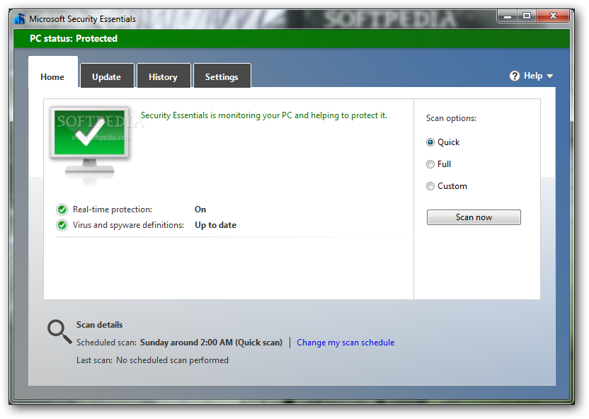 Download Microsoft Security Essentials 4.4.304 XP