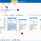 Bật trình chiếu ảnh trong Windows 10