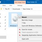 Cài đặt lại Windows 10 mà không mất dữ liệu