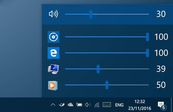 EarTrumpet: Điều chỉnh âm lượng cho các ứng dụng cá nhân trong Windows 10