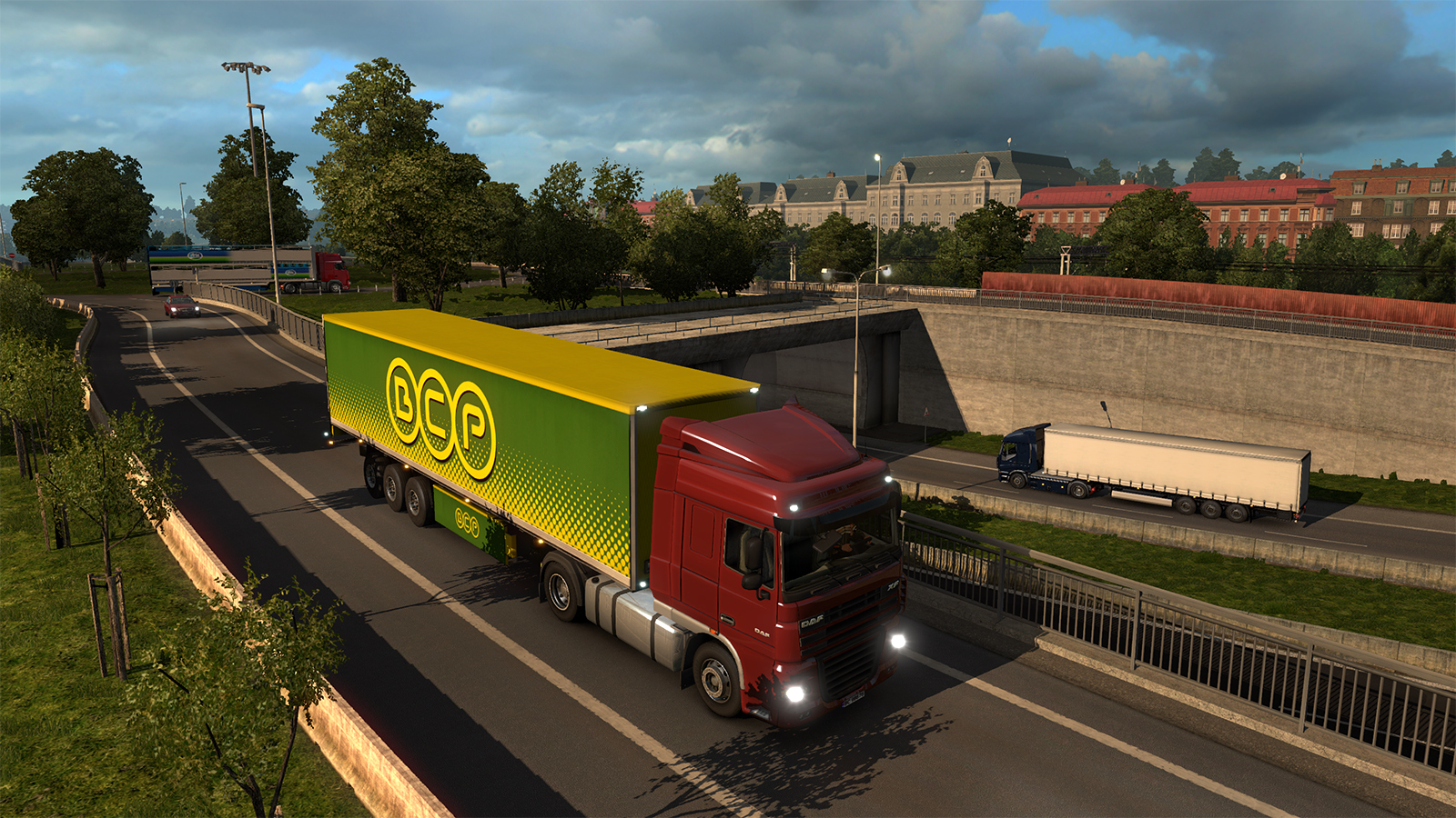 Không gian trong Euro Truck Simulator 2.1