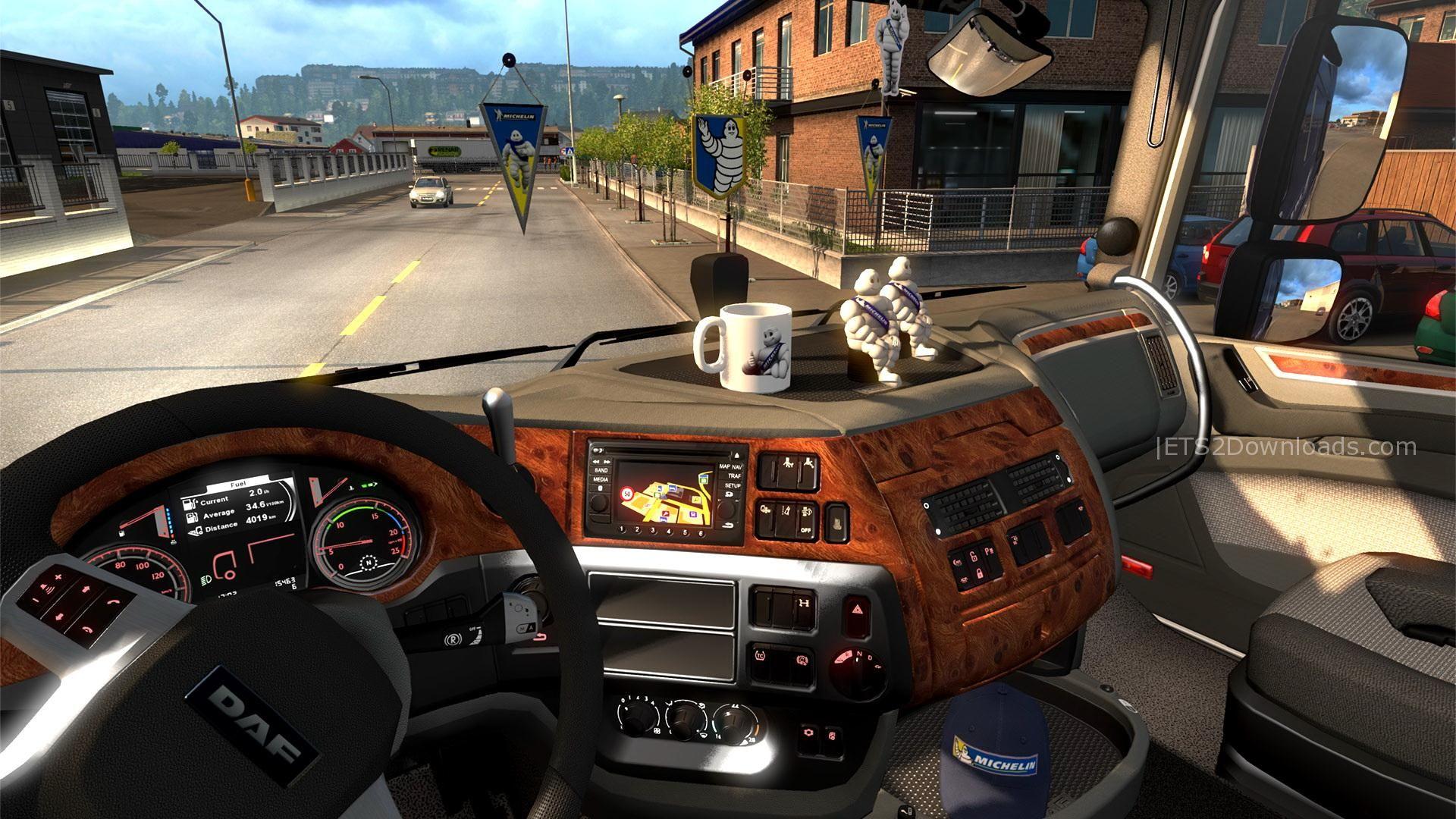 Lái xe tải trong Euro Truck Simulator 2.1