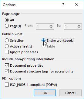 Lưu bang Excel dang pdf