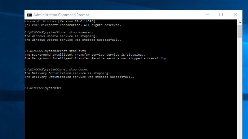 Tạm dừng Update (Cập nhật) Windows 10 Dễ dàng Từ Dòng lệnh