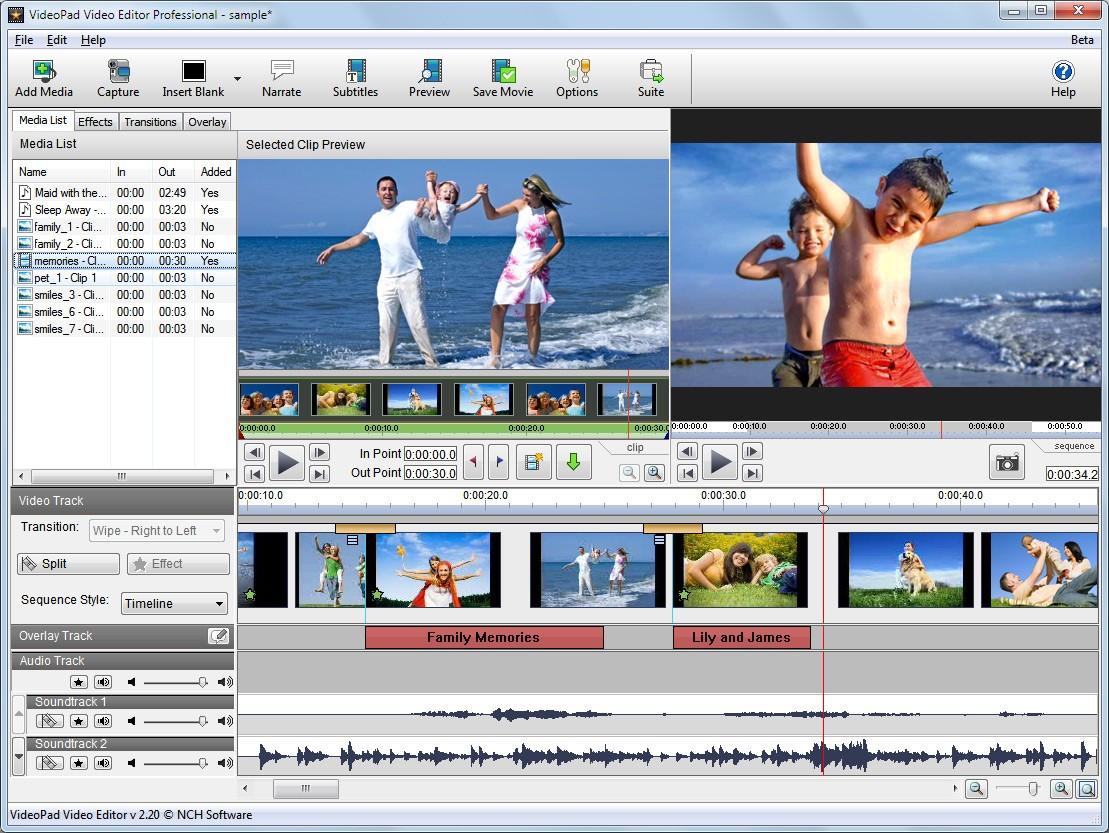 Kết quả hình ảnh cho VSDC Video Editor