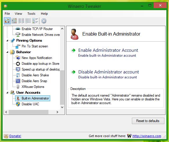 Tắt tài khoản Administrator trong Windows 10