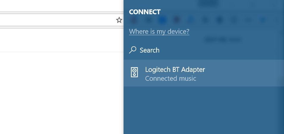 Kết nối thiết bị Bluetooth bằng Action Center