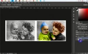 Hướng dẫn Phục hồi ảnh cũ trong Photoshop
