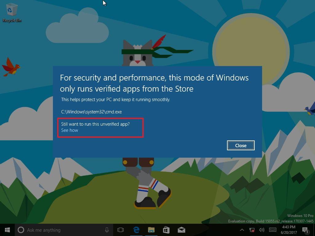 Cách nâng cấp lên Windows 10 Pro từ Windows 10 S