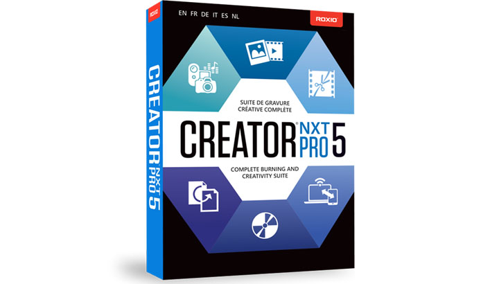 Download Roxio Creator NXT Pro 5 Full miễn phí