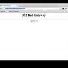 Sửa lỗi 502 Bad Gateway - Lỗi mạng giữa các máy chủ trên Internet