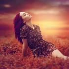 Tao hiệu ứng màu sắc bầu trời lúc hoàng hôn trong Photoshop CC