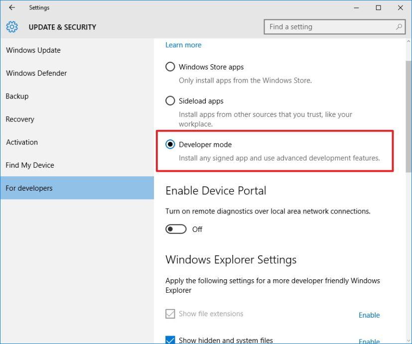 Cài đặt bản Bash trên Ubuntu trên Windows 10